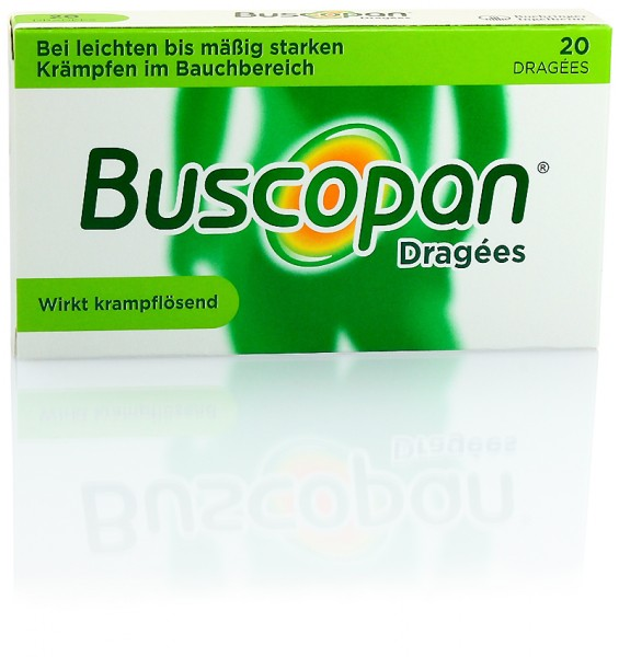 BUSCOPAN DRAGEES 20St