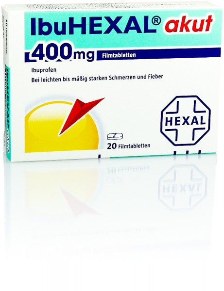 IBUHEXAL AKUT 400mg TABLETTEN 20St