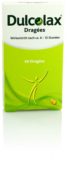 DULCOLAX DRAGEES 40St