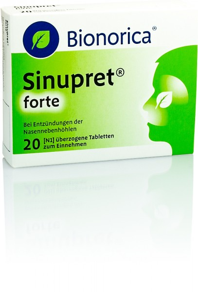 SINUPRET FORTE TABLETTEN 20St