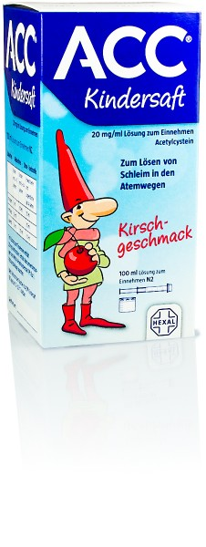 ACC AKUT KINDERSAFT 100ml