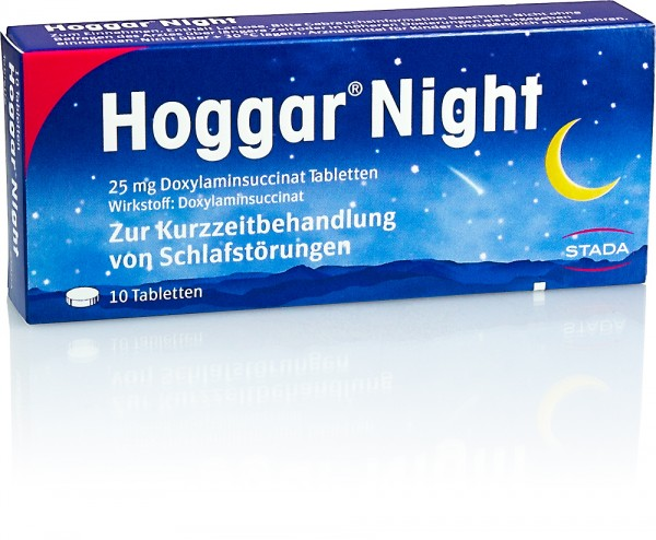 HOGGAR NIGHT TABLETTEN 10St