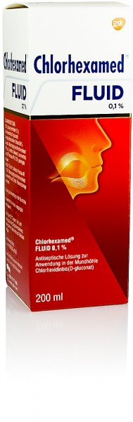 CHLORHEXAMED FLUID 0,1% 200ml