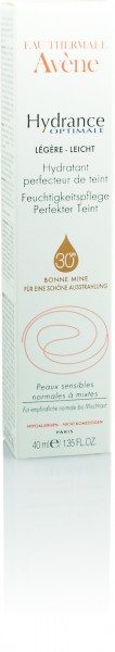 AVENE HYDRANCE OPTIMALE PERFEKTER TEINT LEICHTE CREME 40ml-Copy