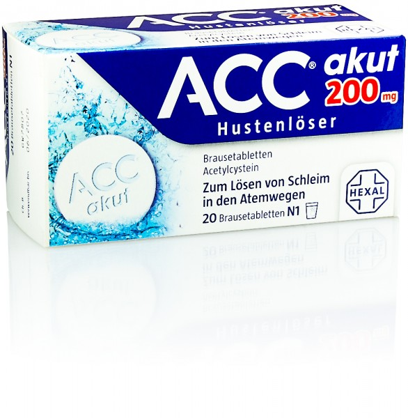 ACC AKUT 200mg BRAUSETABLETTEN 20St