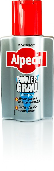 ALPECIN POWER GRAU-SHAMPOO 250ml