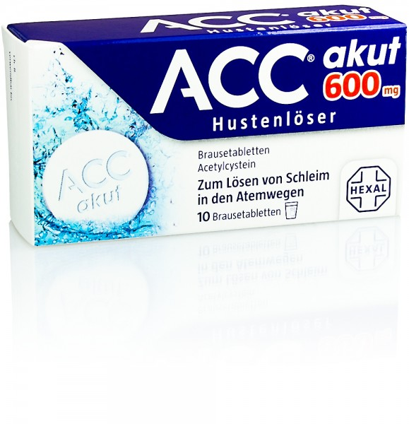 ACC AKUT 600mg BRAUSETABLETTEN 10St