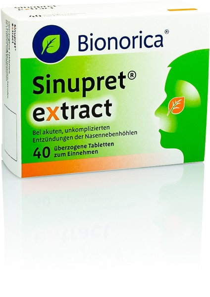 SINUPRET EXTRACT TABLETTEN 40St