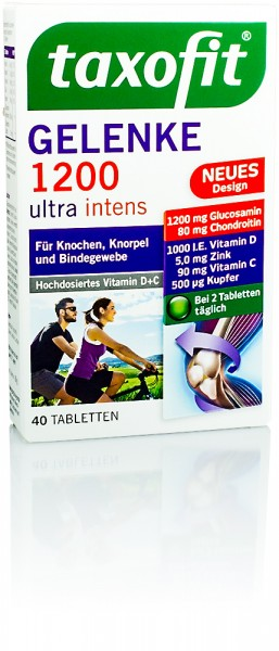 TAXOFIT GELENK 1200 ULTRA INTENS TABLETTEN 40St