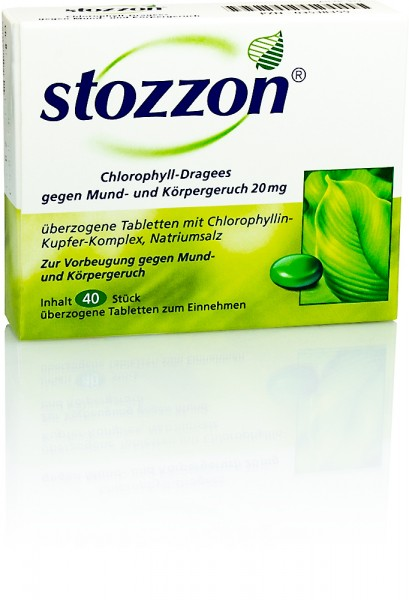 STOZZON CHLOROPHYLL DRAGEES 40St