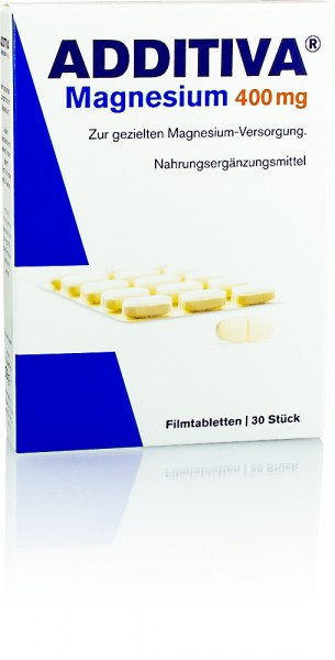 ADDITIVA MAGNESIUM 400mg FILMTABLETTEN 30St