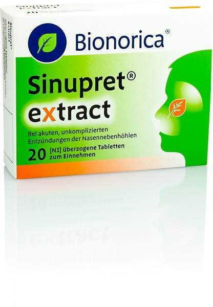 SINUPRET EXTRACT TABLETTEN 20St